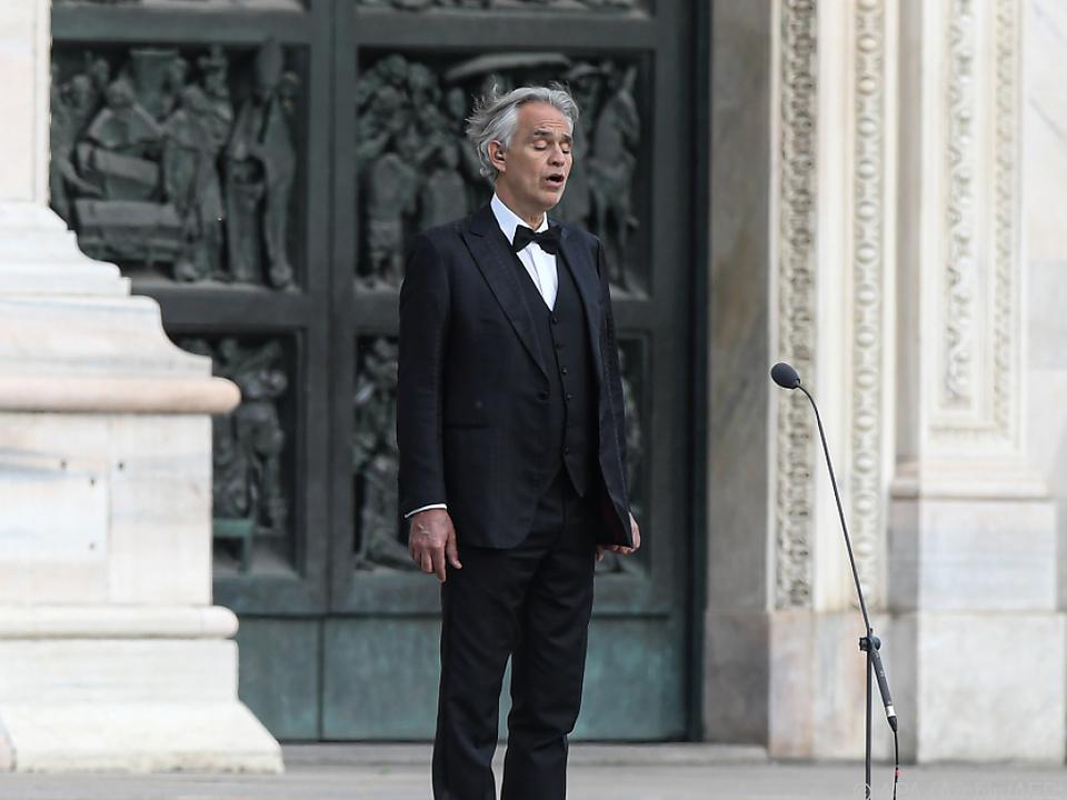Bocelli hatte gegen Lockdown verstoßen
