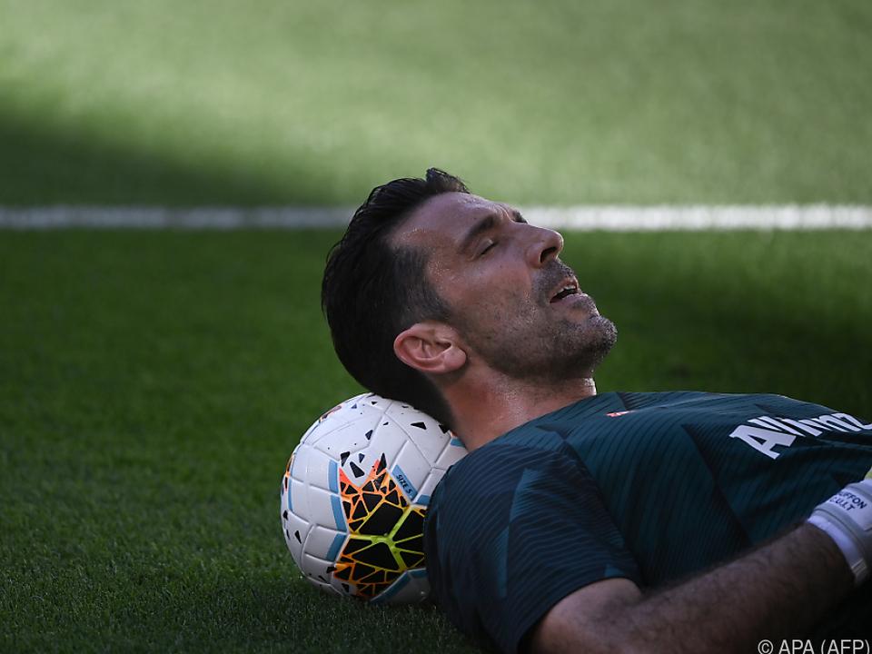 Buffon ist noch nicht müde