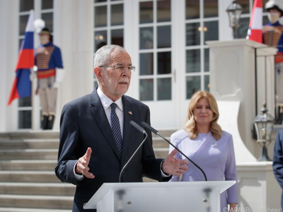 Bundespräsident Van der Bellen zu Gast in der Slowakei