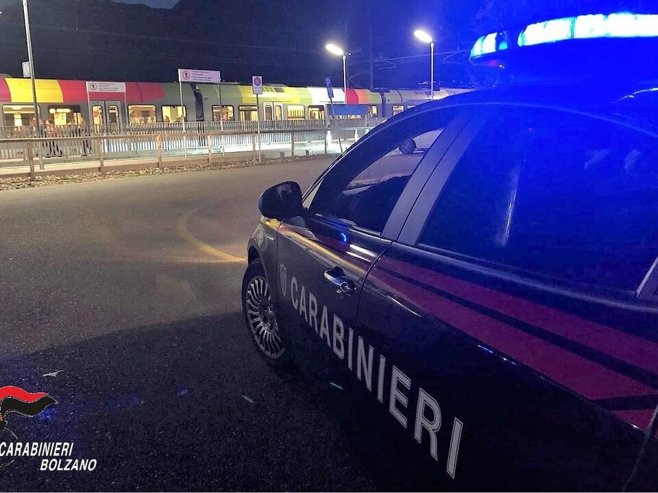 Carabinieri Nacht Mals
