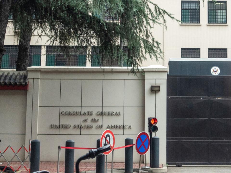 China reagiert auf Schließung mit Gegenschließung