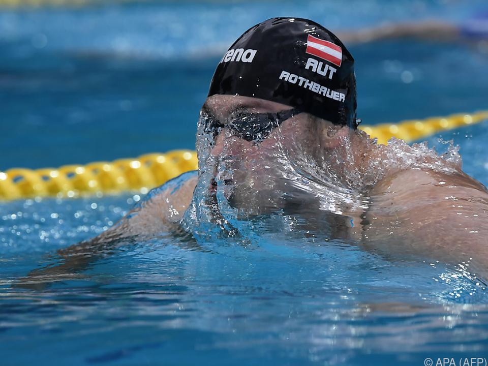 Christopher Rothbauer siegte über 200 Meter Brust