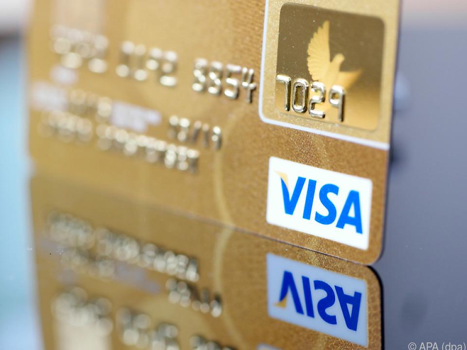 Corona-Pandemie wirft Schatten auf die Bilanz von Visa