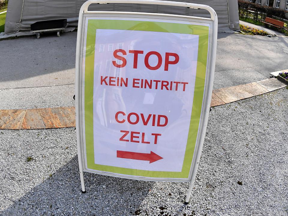 Covid-19-Spital in Salzburg
