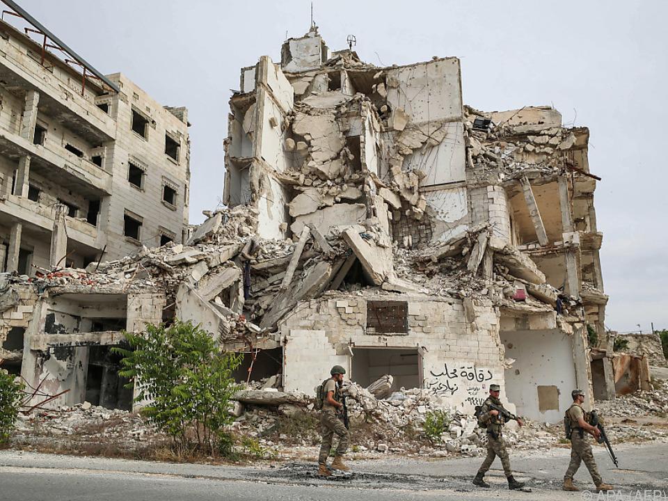 Das syrische Rebellengebiet Idlib ist gezeichnet