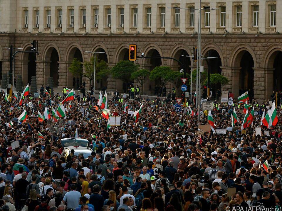 Demonstranten werden der Regierung unter anderem Korruption vor