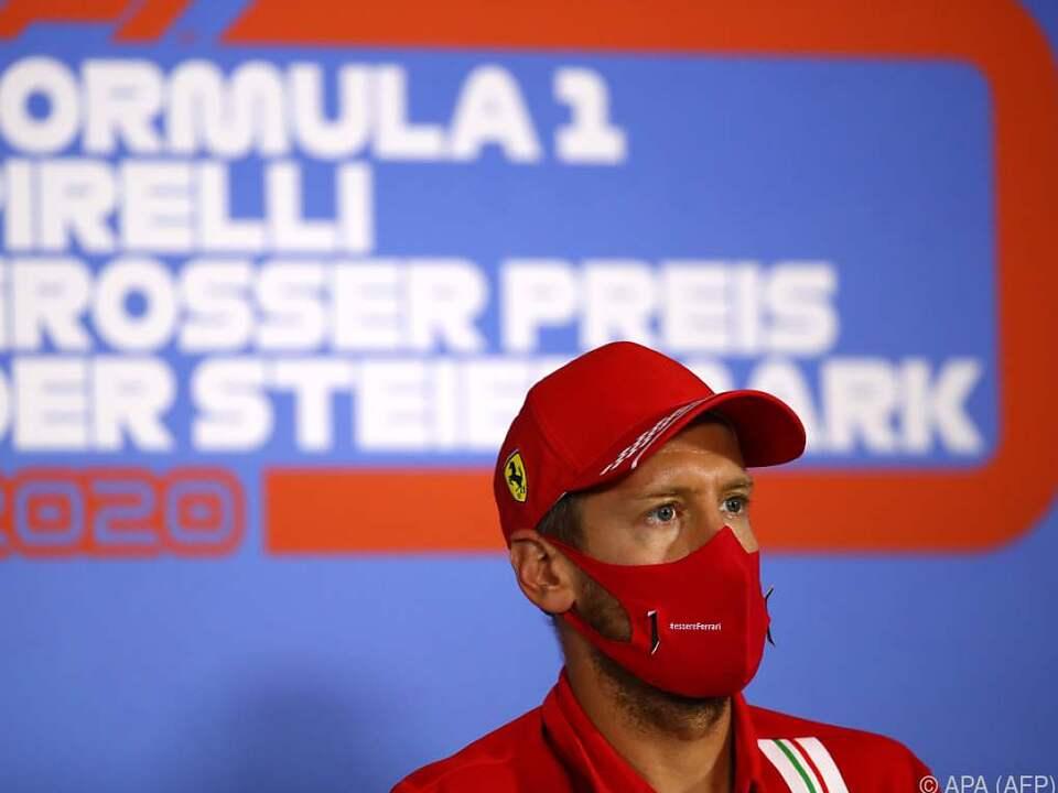 Der Ferrari-Vertrag von Vettel läuft mit Saisonende aus