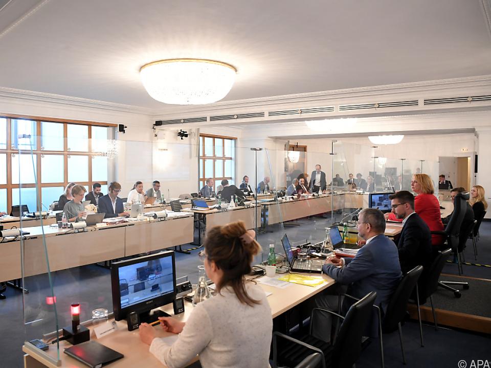 Der Ibiza U-Ausschuss steht vor der Sommerpause