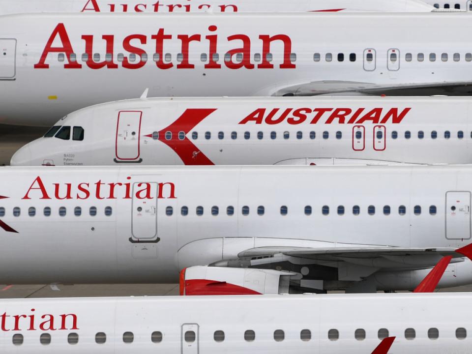 Die Austrian Airlines müssen zahlreiche Ausfälle verkraften
