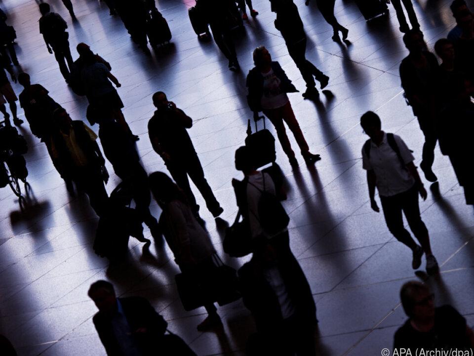 Die Bevölkerungszahl wuchs um 0,48 Prozent
