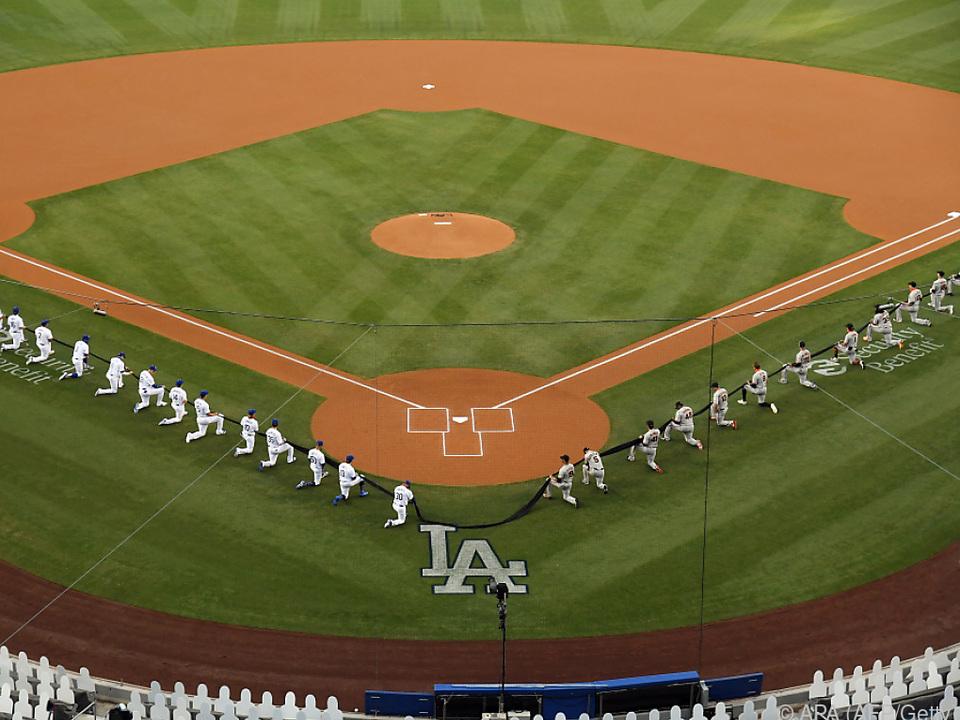 Die Dodgers empfingen in Los Angeles die San Francisco Giants