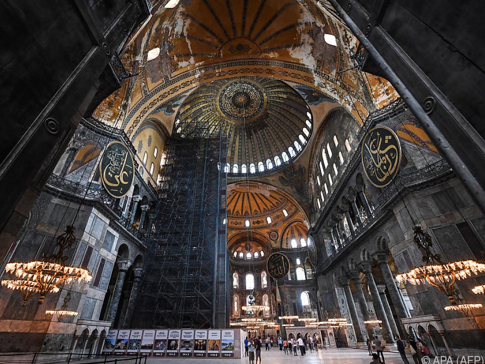 Die Hagia Sofia in Istanbul wird vom Museum wieder zur Moschee