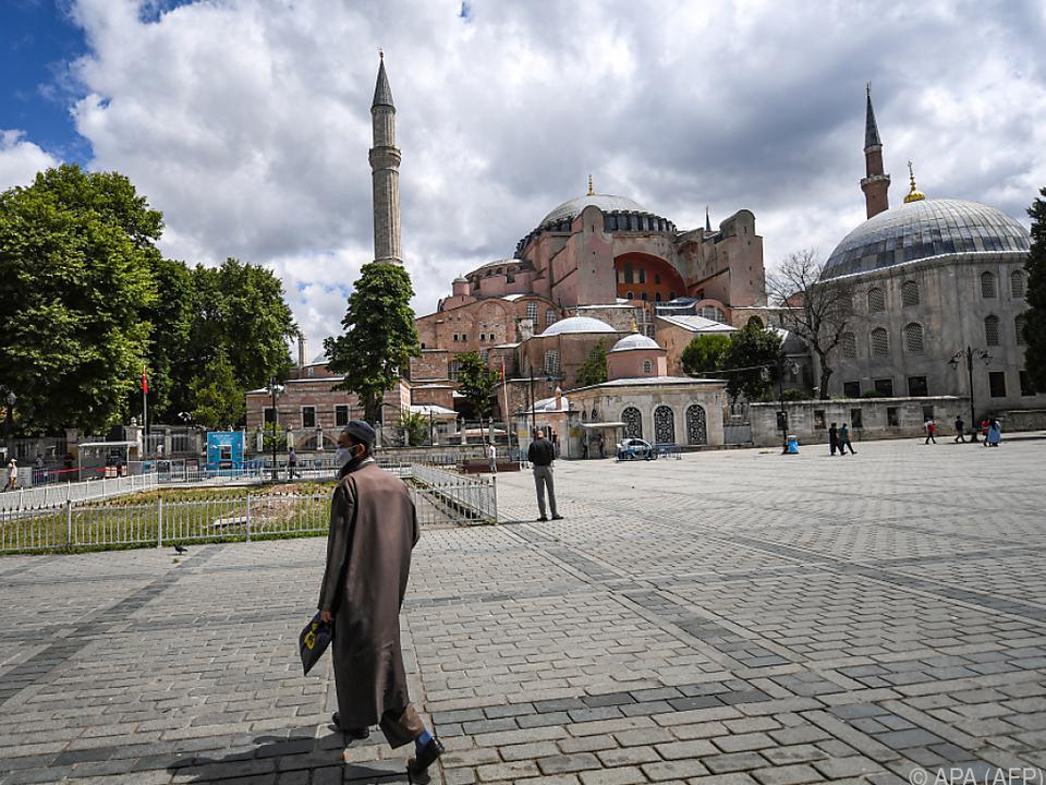 Die Hagia Sophia verliert ihren Status als Museum