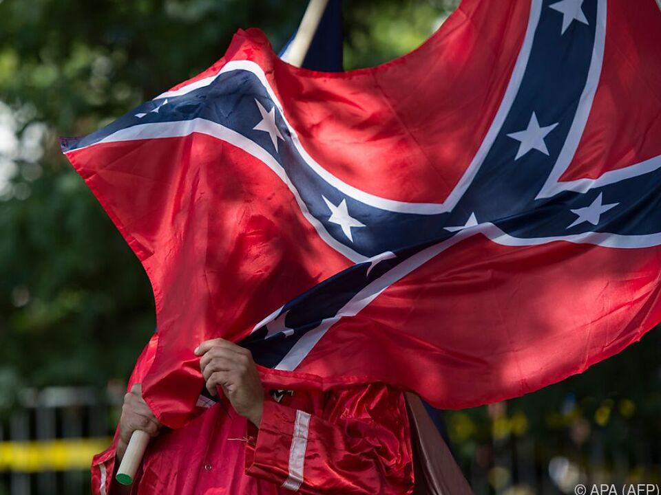 Die Konföderiertenflagge spaltet die USA bis heute