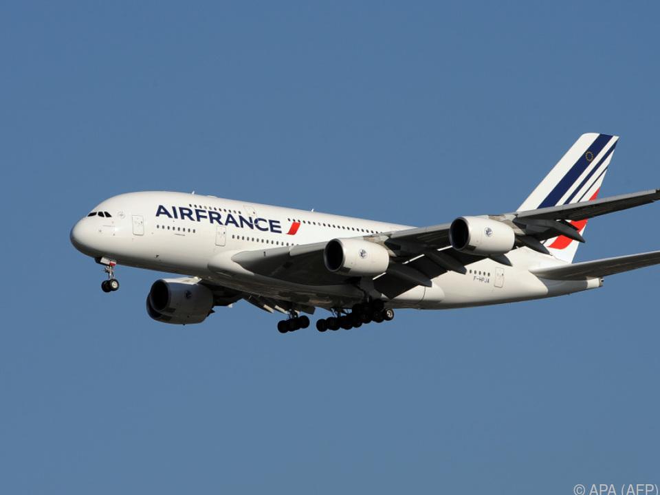 Die Luftfahrtkrise schlägt auch bei Air France zu