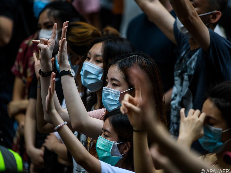 Die Menschen in Hongkong wehren sich gegen die Zentralmacht in Peking