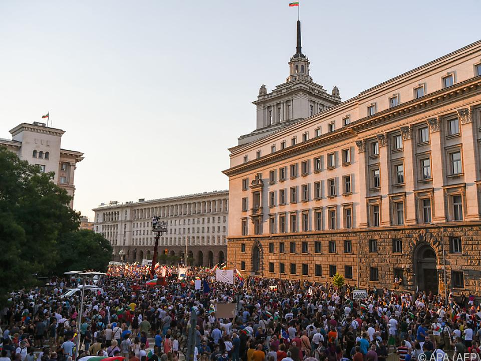 Die Proteste nehmen landesweit zu