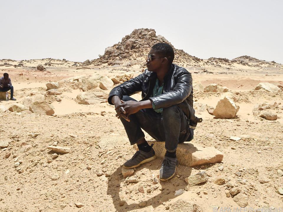 Die Sahara ist eine der tödlichsten Hindernisse