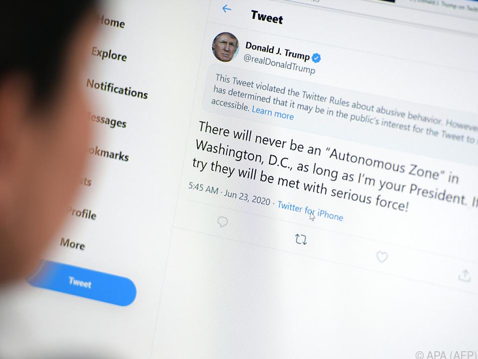 Donald Trumps Tweets beschäftigen seit Jahren die Öffentlichkeit