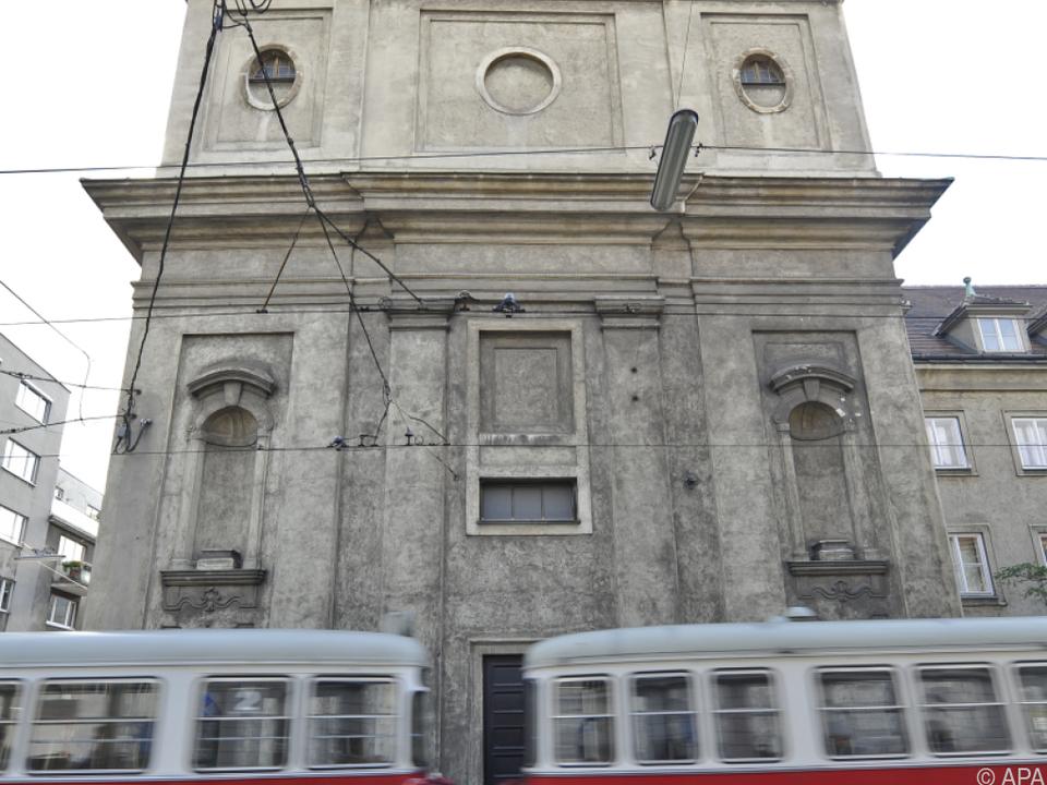Eine der beiden betroffenen Kirchen steht in Wien-Ottakring