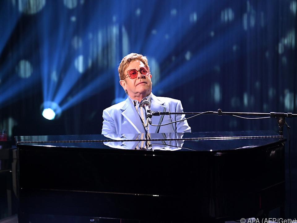Elton John ist eine britische Musiklegende