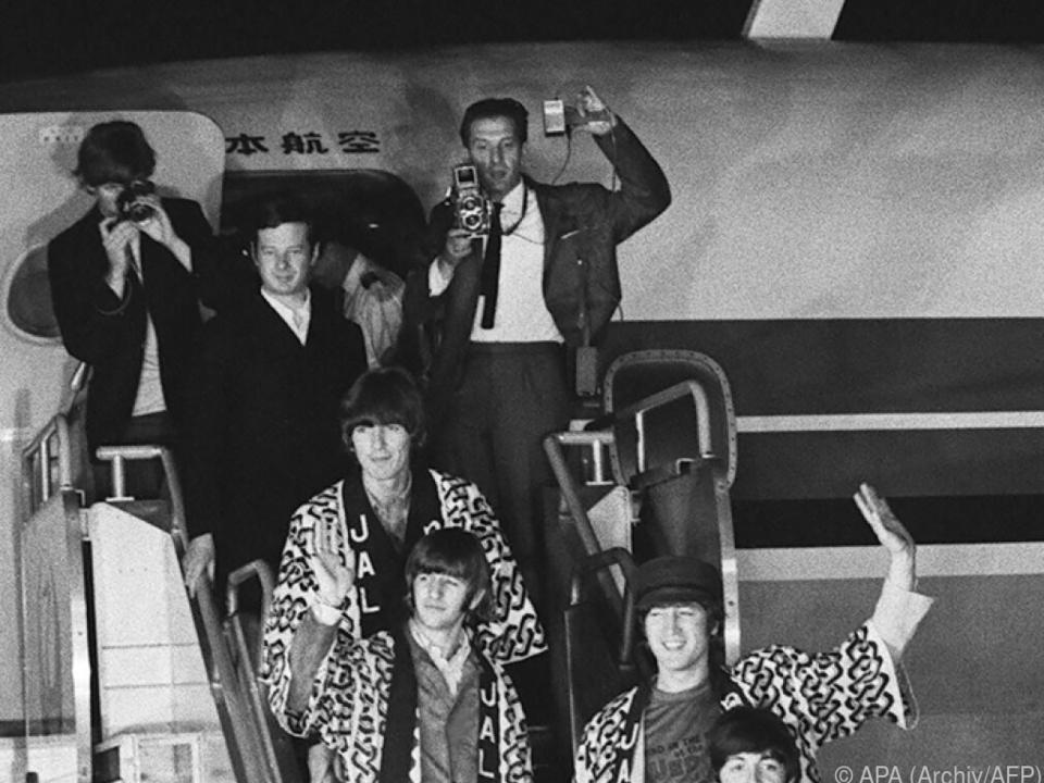 Epstein tourte auch mit den Beatles