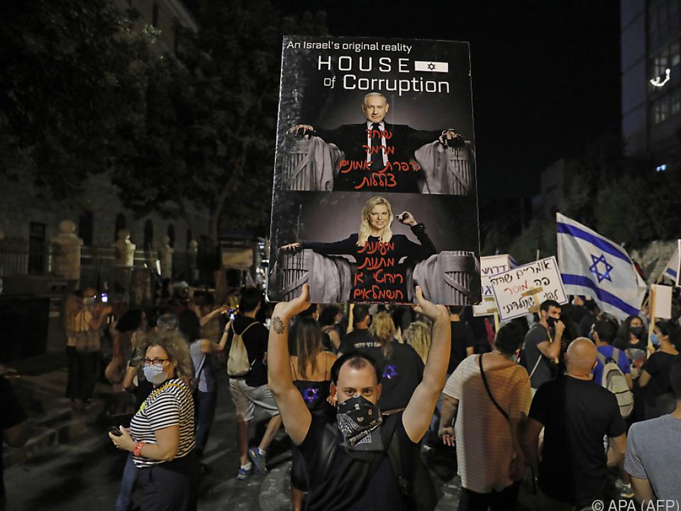 Erneut gingen viele Israelis auf die Straße