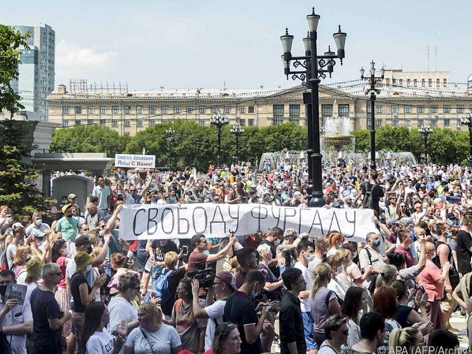Erneut gingen viele Menschen auf die Straße