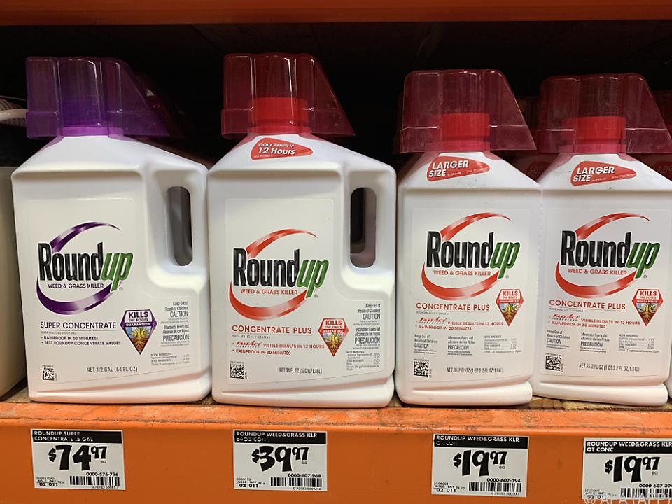 Es geht um den Unkrautvernichter Roundup
