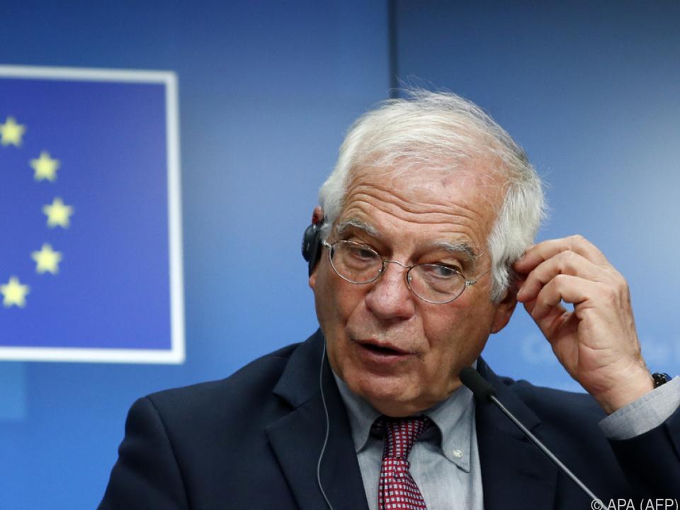 EU-Außenbeauftragter Josep Borrell will weiter verhandeln