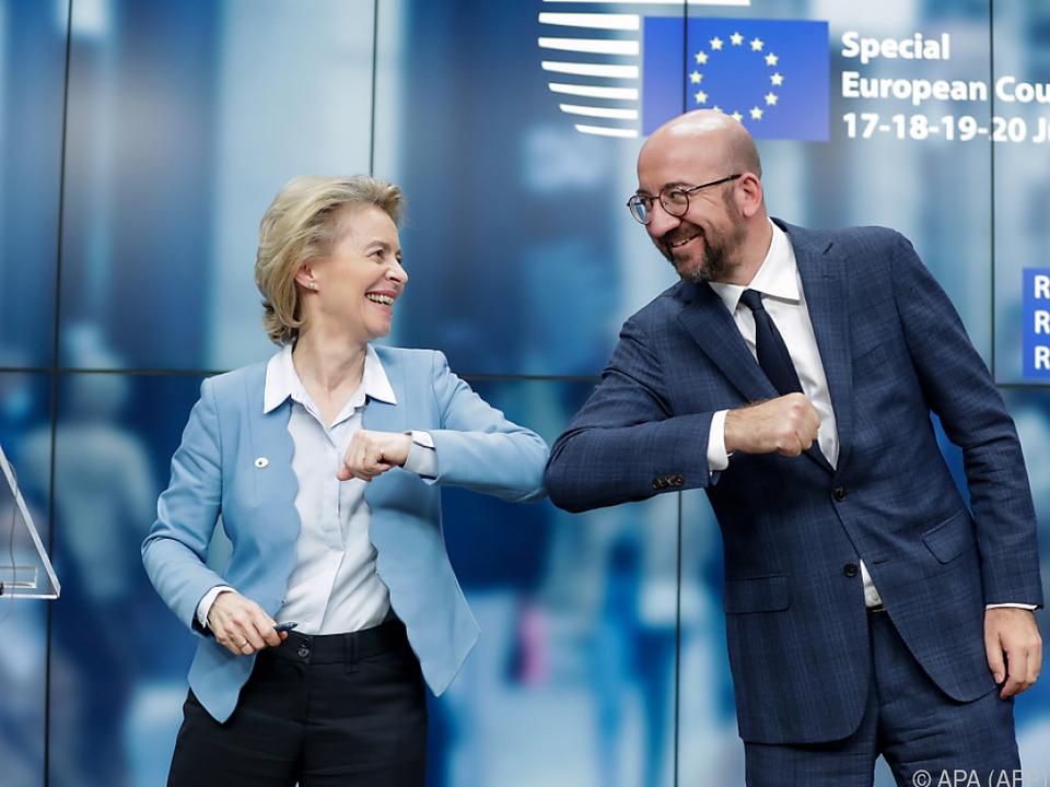 EU-Spitze freute sich noch über Einigung nach EU-Gipfel