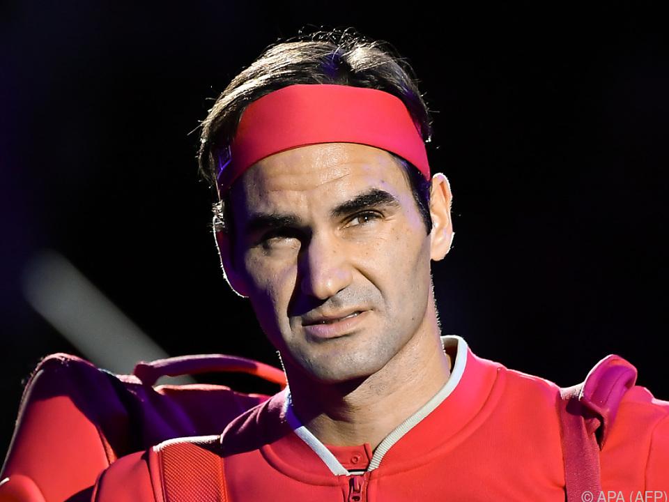 Federer fühlt sich nach eigenen Angaben schon besser