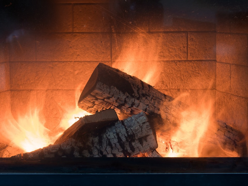 Kamin Feuer Ofen