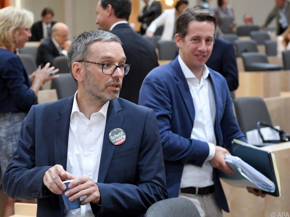 FPÖ-Klubobmann Kickl sieht ein massives Versagen bei der Integration