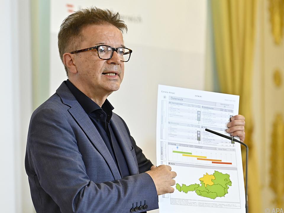 Gesundheitsminister Anschober rät zur Wachsamkeit