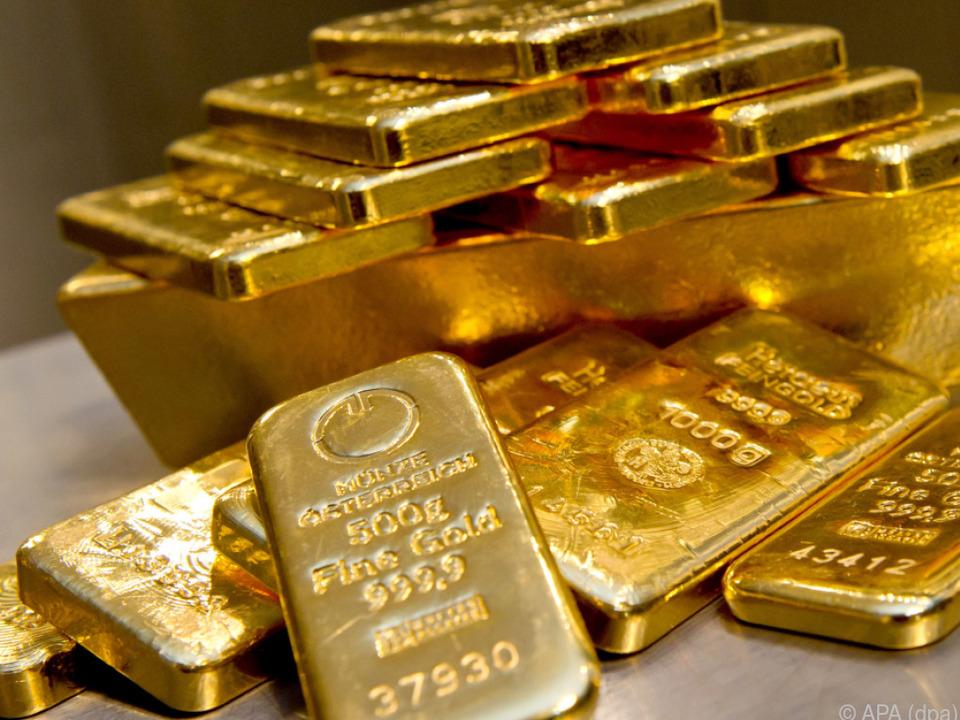 Gold gilt als sicherer Hafen der Wertanlage