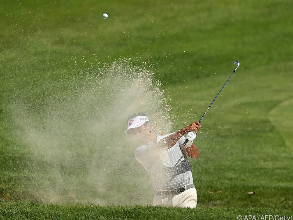 Golfturnier im hohen Norden der USA