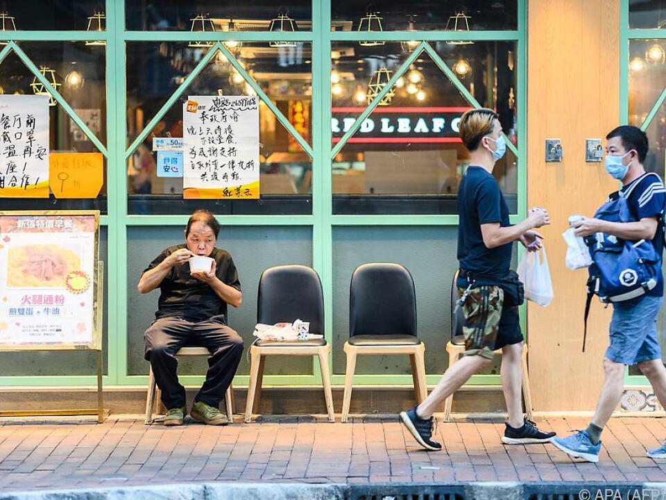 EU-Reaktionspaket zu Hongkong-Krise