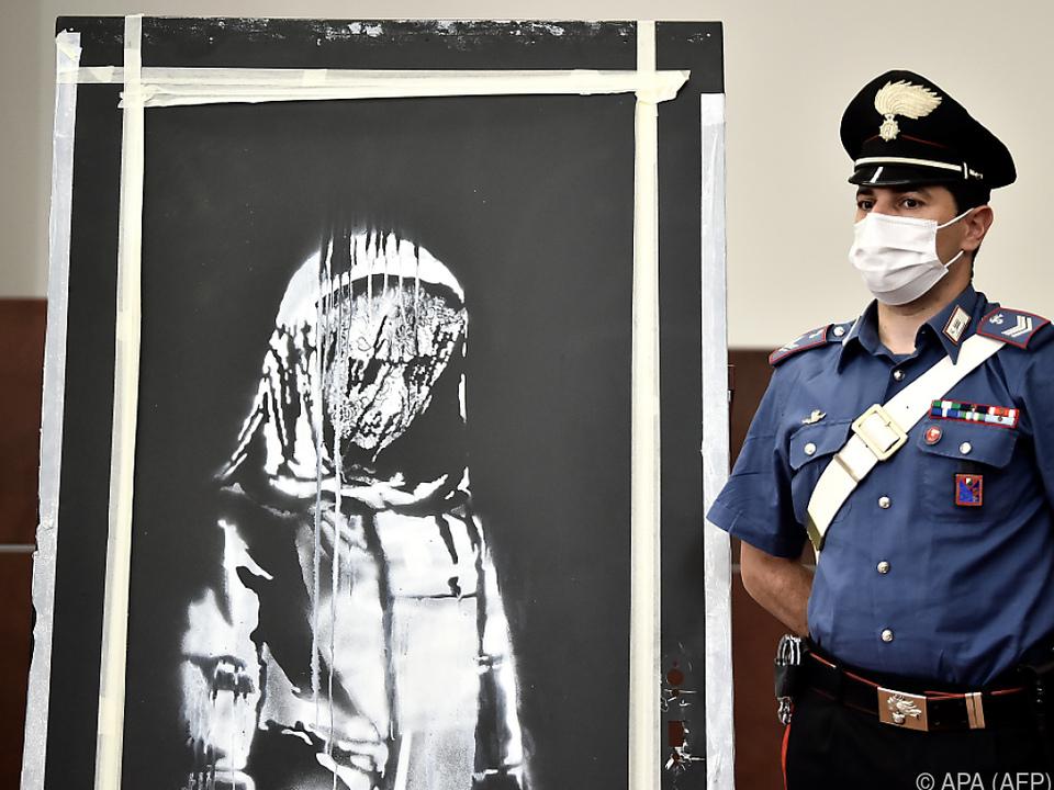Im Juni spürten die Ermittler das gestohlene Kunstwerk auf