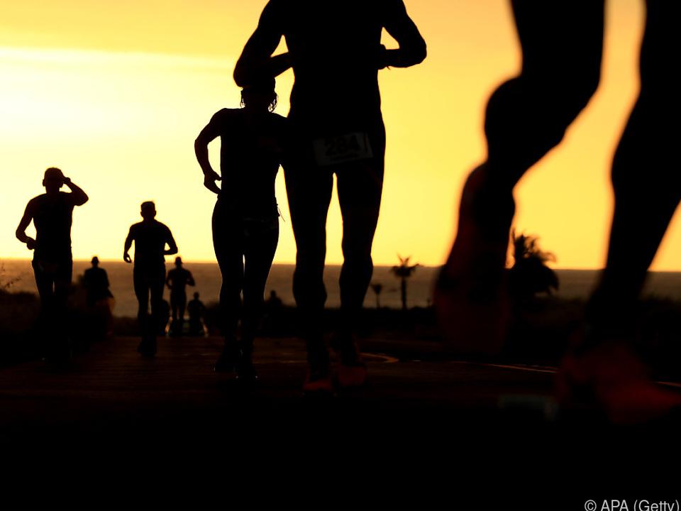 Im Mai war die Veranstaltung auf Februar verschoben worden sport laufen fitness gesundheit bewegung sym