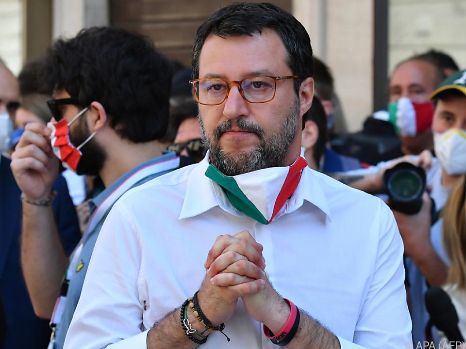 Immunität von Italiens Ex-Innenminister Matteo Salvini aufgehoben