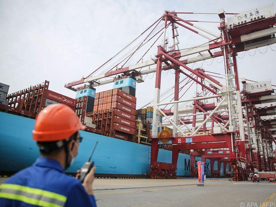 Import- und Export-Maschinerie wieder voll angelaufen
