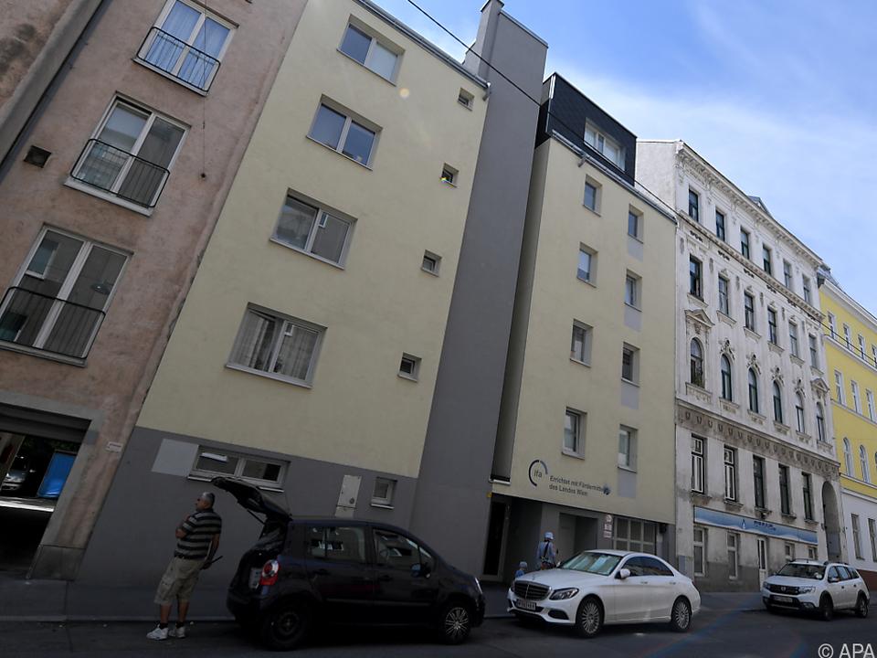 In diesem Wohnhaus in Ottakring wurde die Gasleitung manipuliert
