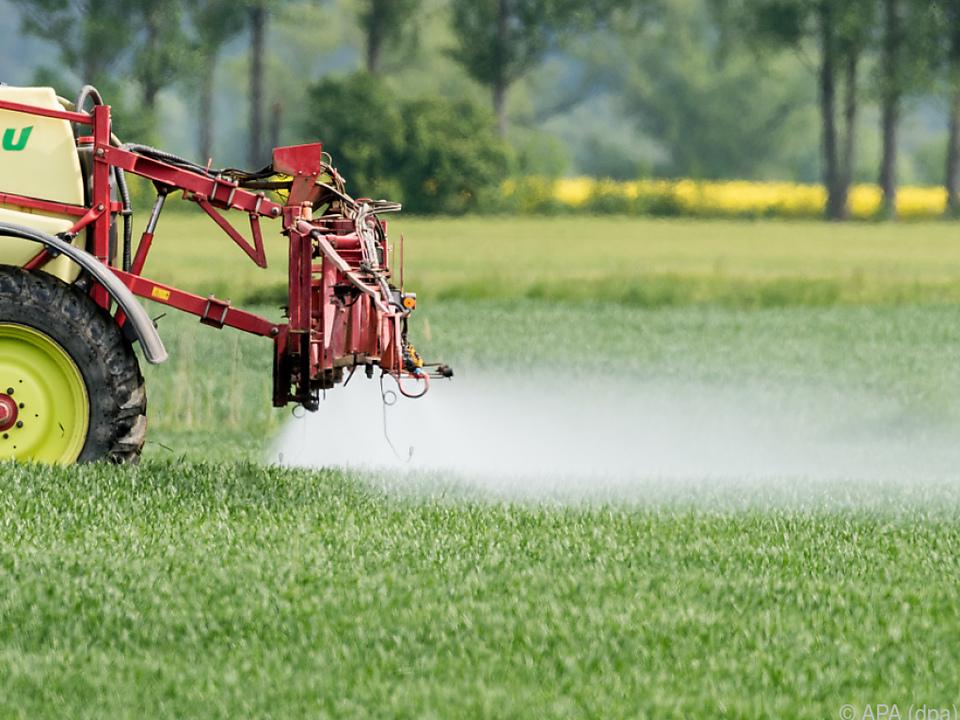 In Österreich wurden zuletzt deutlich mehr Pestizide verkauft