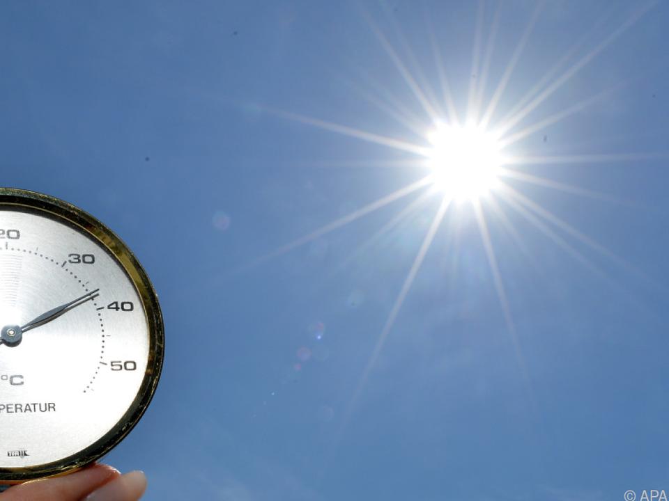 In Sibirien hatte es erstmals 37 Grad Celsius