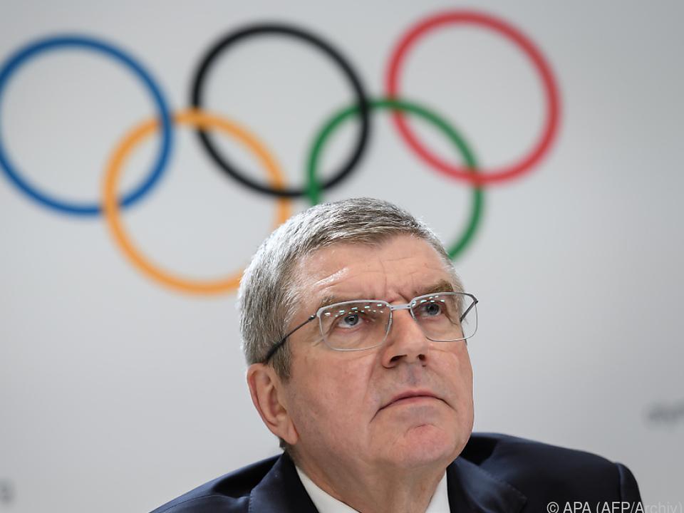 IOC-Chef Thomas Bach gibt sich optimistisch