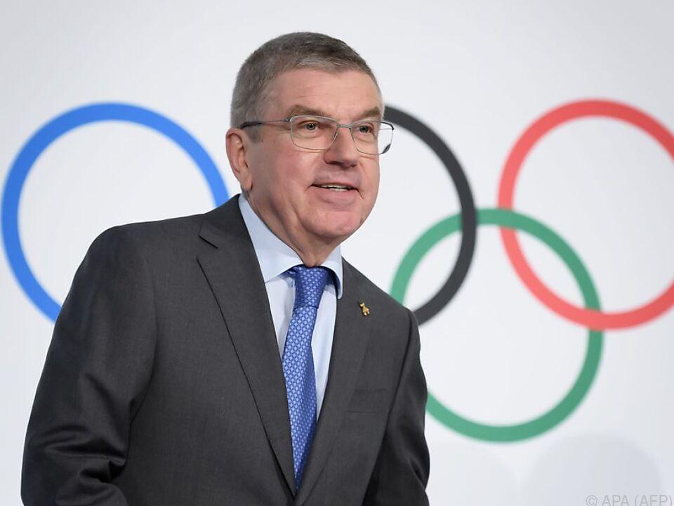 IOC-Präsident Thomas Bach strebt Wiederwahl an