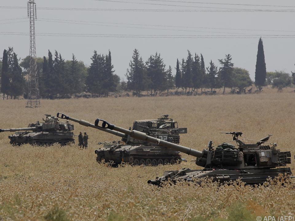 Israel verstärkt seine Truppen an der Grenze zum Libanon