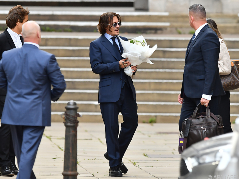 Johnny Depp hat auch noch Fürsprecher
