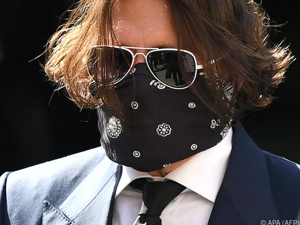 Johnny Depp sieht sich als Monster verleumdet
